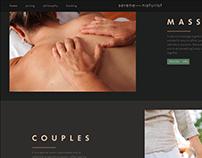 serene-naturist website prototype