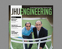 JHU Engineering Magazine redesign