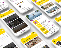 UX Design - Freelance coworking app project