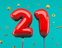 Creatividad | 21° Aniversario