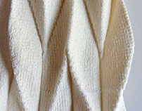 WIP: Pleat and Fold - knit fabric development