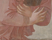 "Copy of the fresco "" The Annunciation"" by Fra Angelico"