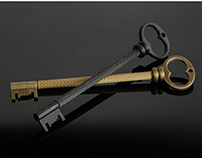 Key-shaped pen /// EPOKA Restaurant
