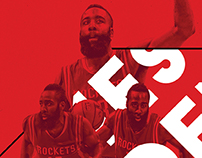 James Harden & Dwight Howard Posters