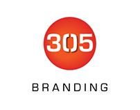305 Branding – Logo Design