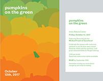 Pumpkins on the Green Invitation Set