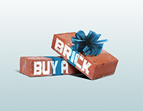 Buy-A-Brick logo & tri-fold business cards