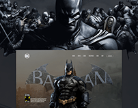 BATMAN - WEBSITE DESIGN