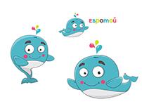 """Персонаж """"Євротойчик"""" для eurotoy.com.ua"""
