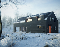 Winter House, San Gabriel Mountains, CA