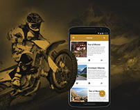 Mobile App to Plan Your Next Adventure