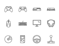 Video Game Icons Download