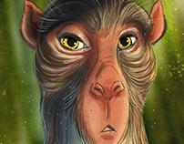 Monkey Collection: Digital Illustration