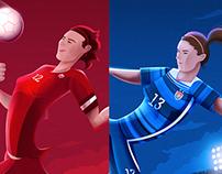 MLS - Women's World Cup