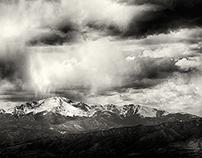 Snowing on the Peak