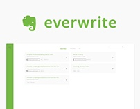 Everwrite - Evernote New Concept