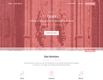 Gaia Free Bootstrap Template