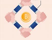 Bitcoin dietro le quinte