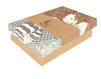 Caixas de Bonecas para Pintar