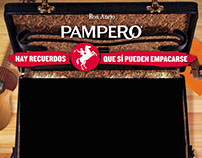 Interactive showcase - Pampero Rum (Diageo)