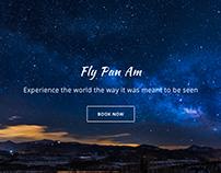 Pan Am Landing Page