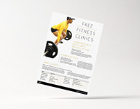 Fitness Clinics Flyer