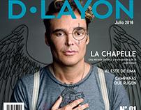 """Diagramación de revista sobre publicidad """"D LAYON"""""""