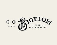 C. O. Bigelow Apothecary Rebrand