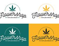 The Flowershop (logo mock v1)