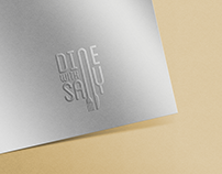 Logo Design - Dine with Sally