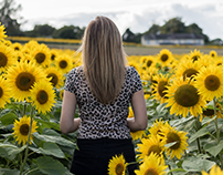 Portraiture Photography- Sunflower Fields 2017