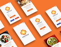 Fruitech Mobile UI PSD