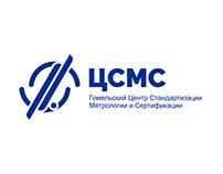 "Logo and Branding for strict company ""ЦСМС"" (CSMC)"