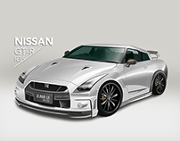 THE ICON NISSAN GTR35