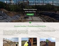 Projekt strony - stabilnygrunt.pl
