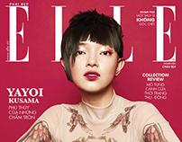 ELLE   magazine layout design
