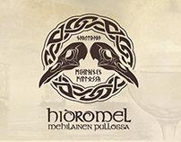 Branding @ Hidromel Mehilainen Pullossa