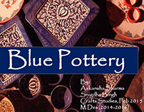 Craft Studies- Blue Pottery