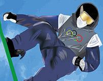 Sochi 2014 Olympics Poster Design