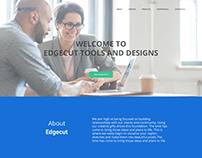 Website Design - Edgecut Tools and Design