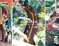 SUMMER FAMILY HOLIDAY 24solar terms融创24节气夏日 小满 芒种 夏至 小暑