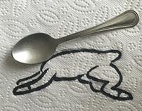 Napkin + spoon