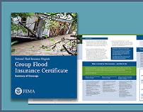 Brochure for FEMA