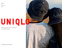 UNIQLO │ UI/UX DESIGN