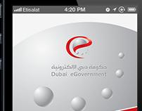Dubai Smart Government Mobile App. under design SEP2013