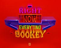 """Bookey"" 3D Typography"