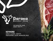 Baraka Butcher Shop Branding