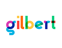 Gilbert - Animated Typeface