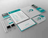 FREE Teal Brand Identity Template
