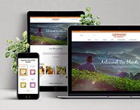 Gryphon Tea - Responsive Website